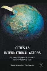 Omslag - Cities as International Actors