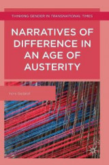 Omslag - Narratives of Difference in an Age of Austerity