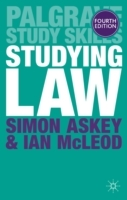 Studying Law av Simon Askey og Ian McLeod (Heftet)