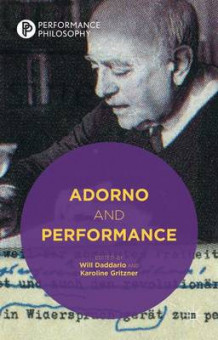 Adorno and Performance (Innbundet)