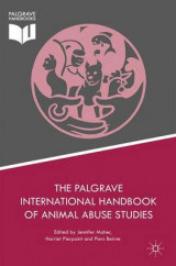 Omslag - The Palgrave International Handbook of Animal Abuse Studies