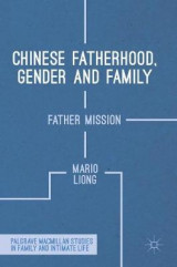 Omslag - Chinese Fatherhood, Gender and Family 2017