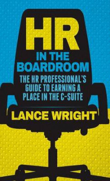 HR in the Boardroom av Lance Wright (Innbundet)