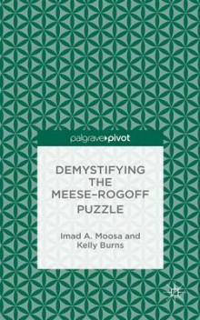 Demystifying the Meese-Rogoff Puzzle av Imad A. Moosa og Kelly Burns (Innbundet)