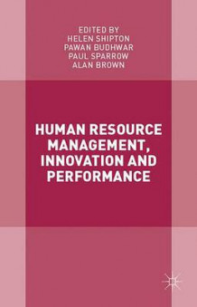 Human Resource Management, Innovation and Performance 2016 (Innbundet)