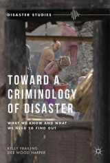 Omslag - Toward a Criminology of Disaster