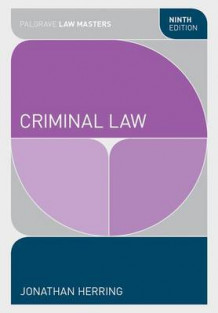 Criminal Law av Jonathan Herring (Heftet)