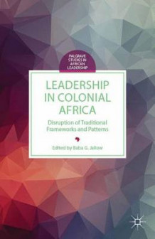 Leadership in Colonial Africa (Innbundet)