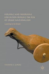 Omslag - Formal and Informal Education During the Rise of Greek Nationalism 2017
