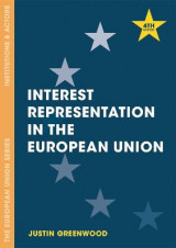 Omslag - Interest Representation in the European Union