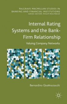 Internal Rating Systems and the Bank-Firm Relationship av Bernardino Quattrociocchi (Innbundet)