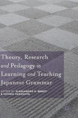 Omslag - Theory, Research and Pedagogy in Learning and Teaching Japanese Grammar