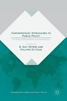 Contemporary Approaches to Public Policy 2016 (Innbundet)