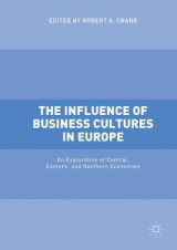 Omslag - The Influence of Business Cultures in Europe