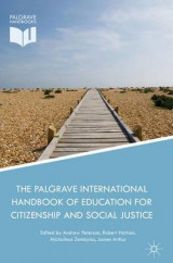 Omslag - The Palgrave International Handbook of Education for Citizenship and Social Justice 2016
