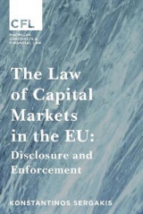 Omslag - The Law of Capital Markets in the EU