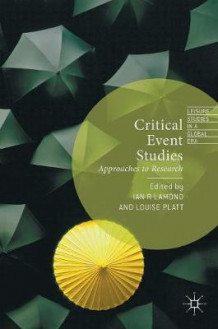 Critical Event Studies 2016 (Innbundet)