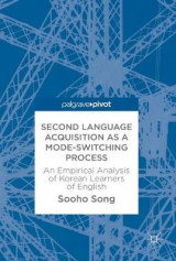 Omslag - Second Language Acquisition as a Mode-Switching Process