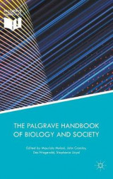 Omslag - The Palgrave Handbook of Biology and Society