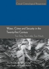 Omslag - Water, Crime and Security in the Twenty-First Century