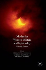 Omslag - Modernist Women Writers and Spirituality 2016