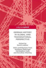 Omslag - German History in Global and Transnational Perspective