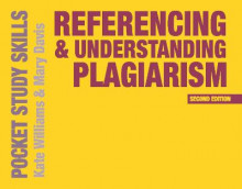 Referencing and Understanding Plagiarism av Kate Williams og Mary Davis (Heftet)