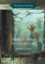 Omslag - American Horror Fiction and Class