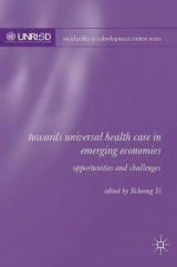 Omslag - Towards Universal Health Care in Emerging Economies 2016