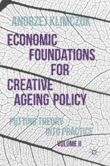 Omslag - Economic Foundations for Creative Ageing Policy 2016: Volume II