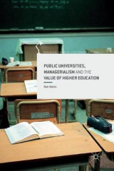 Omslag - Public Universities, Managerialism and the Value of Higher Education 2016