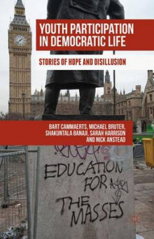 Youth Participation in Democratic Life av Bart Cammaerts, Michael Bruter, Sarah Harrison, Shakuntala Banaji og Nick Anstead (Innbundet)
