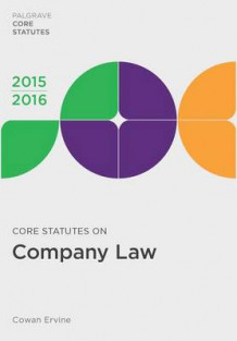 Core Statutes on Company Law 2015-16 av Cowan Ervine (Heftet)