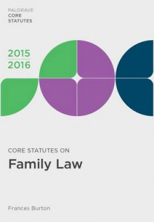 Core Statutes on Family Law av Frances Burton (Heftet)