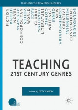 Omslag - Teaching 21st Century Genres 2016