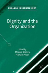 Omslag - Dignity and the Organization 2017