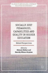 Omslag - Socially Just Pedagogies, Capabilities and Quality in Higher Education 2017