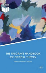 Omslag - The Palgrave Handbook of Critical Theory 2017