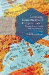 Omslag - Language, Normativity and Europeanisation 2016