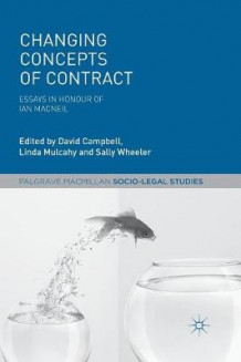Changing Concepts of Contract (Heftet)