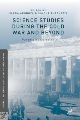 Omslag - Science Studies During the Cold War and Beyond 2015