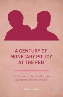A Century of Monetary Policy at the Fed av David E. Lindsey (Innbundet)