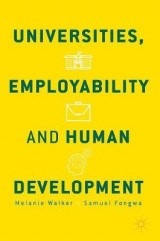 Omslag - Universities, Employability and Human Development