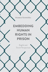 Omslag - Embedding Human Rights in Prison 2017