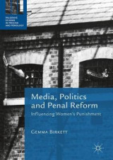 Omslag - Media, Politics and Penal Reform