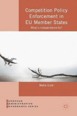 Omslag - Competition Policy Enforcement in EU Member States 2016