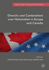 Omslag - Diversity and Contestations over Nationalism in Europe and Canada