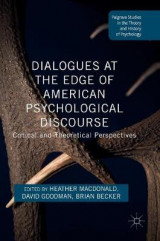 Omslag - Dialogues at the Edge of American Psychological Discourse