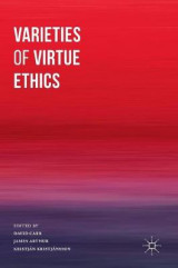 Omslag - Varieties of Virtue Ethics 2016