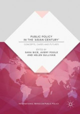 Omslag - Public Policy in the 'Asian Century'